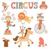 Colorful circus performance Stock Photo