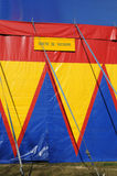 Colorful circus tent Royalty Free Stock Photo