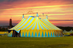 Colorful Circus Tent Royalty Free Stock Image