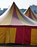 Colorful circus tent Stock Photography