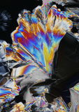 Colorful Citric Acid crystals Royalty Free Stock Photo