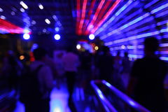 Colorful citylife Abstract bokeh background with motion blur. Abstract bokeh of citylife of Bangkok night background with motion blur Royalty Free Stock Photo
