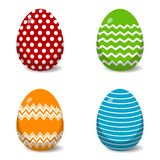 Classic Easter Egg Patterns. Eps10 Vector royalty free illustration