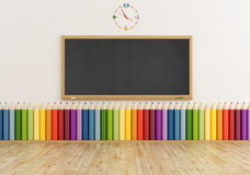 Colorful classroom Royalty Free Stock Images