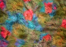 Colorful clay grunge background Stock Photo
