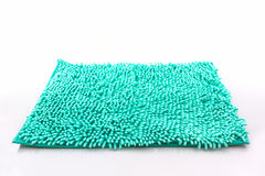 Colorful of cleaning feet doormat or carpet. Colorful of cleaning feet doormat or carpet texture on white background Royalty Free Stock Images