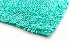 Colorful of cleaning feet doormat or carpet. Stock Photo