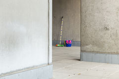 Colorful cleaning utilities 8 Stock Image