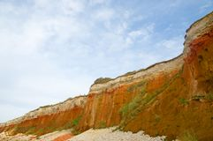 The colorful cliffs Royalty Free Stock Photo