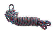 Colorful climbing rope Stock Photo
