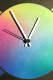 Colorful clock Royalty Free Stock Photography