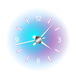 Colorful clock Stock Images