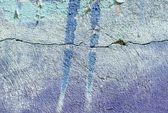 Colorful close up plaster wall texture for backgrounds and interesting textures. stock photos