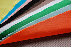 Colorful cloth. A pile of colorful cloth for clothes making royalty free stock images