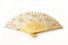 Colorful cloth fan Stock Image