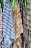 Colorful cloth hanging Royalty Free Stock Photography