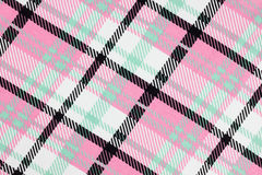 Colorful cloth with simple pattern as background Stock Images