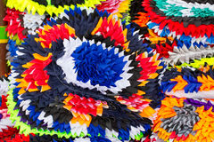 Colorful cloth to wipe your feet Royalty Free Stock Image