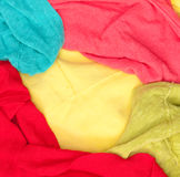 Colorful clothes Royalty Free Stock Images