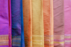 Colorful clothes at Annual Lumpini Cultural Festival Royalty Free Stock Image
