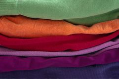 Colorful clothes Royalty Free Stock Photography