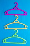 Colorful Clothes Hanger Royalty Free Stock Photo