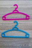 Colorful Clothes Hanger Stock Photos