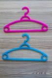 Colorful Clothes Hanger Stock Photos