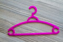 Colorful Clothes Hanger Royalty Free Stock Photos
