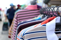 Colorful clothes. Stock Photography