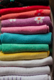 Colorful clothes Royalty Free Stock Photos