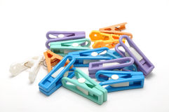 Colorful clothespin Stock Image