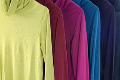 Colorful  clothing Royalty Free Stock Photos