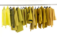 Colorful  clothing Stock Photography