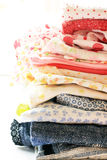 Colorful cloths Royalty Free Stock Photography