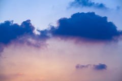 Colorful cloudy sky Royalty Free Stock Images