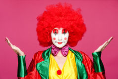 Colorful clown Royalty Free Stock Image