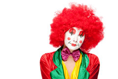 Colorful clown Stock Photo