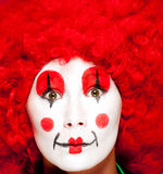 Colorful clown Royalty Free Stock Photo