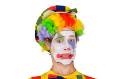 Colorful Clown Royalty Free Stock Photography