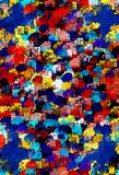 Colorful Clutter Stock Image