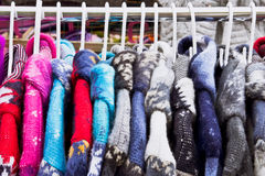 Colorful Coats Stock Image
