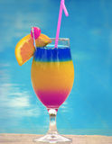 Colorful cocktail Stock Photo