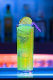 Colorful cocktail Stock Images