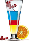 Colorful cocktail stock photos