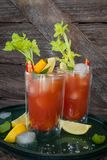Cocktail with tomato juice Royalty Free Stock Images