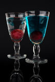 Colorful cocktails. Stock Image