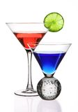 Colorful Cocktails Stock Images