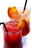Colorful cocktails Royalty Free Stock Photo
