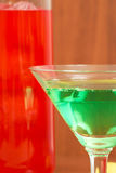 Colorful cocktails Stock Photos